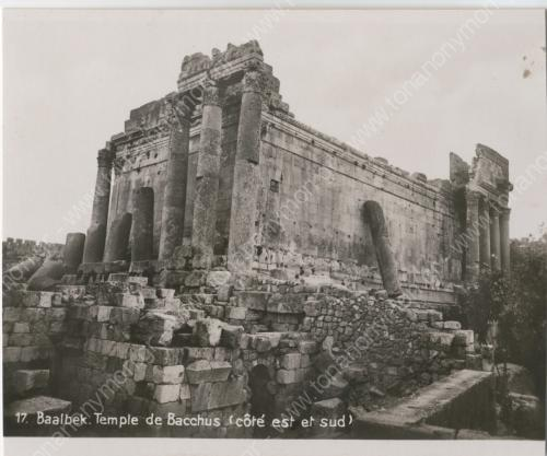 Ναός του Βάκχου, Baalbek, Λίβανος